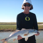 Cathy and Redfish