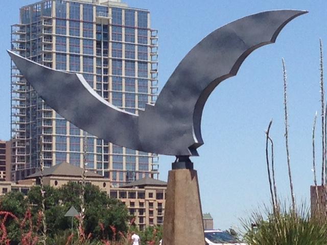 Austin Bat Sculpture
