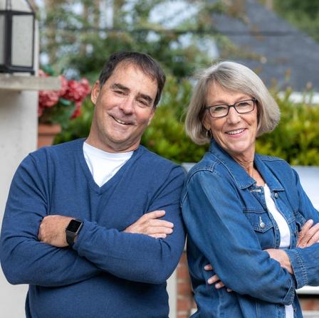 Cathy and Bob Romano